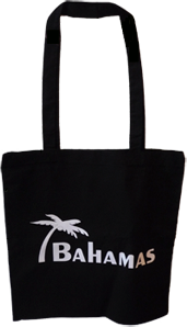 Bahamas Stofftasche 38 x 40 cm